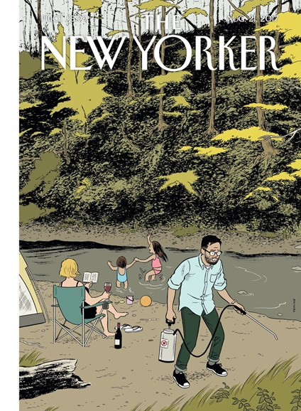 The New Yorker Cover - 8/21/2017
