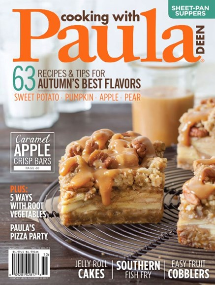 Cooking With Paula Deen Cover - 9/1/2017