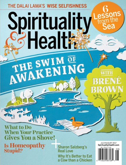 Spirituality & Health Cover - 7/1/2017