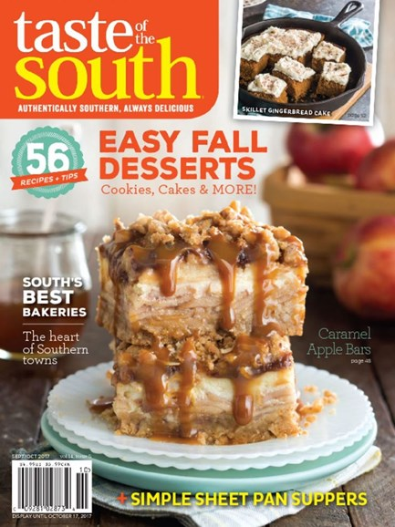 Taste of the South Cover - 9/1/2017