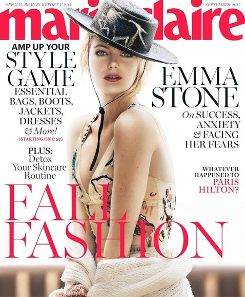 Marie Claire Cover - 9/1/2017
