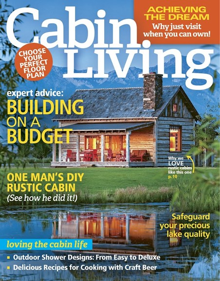 Cabin Living Cover - 9/1/2017