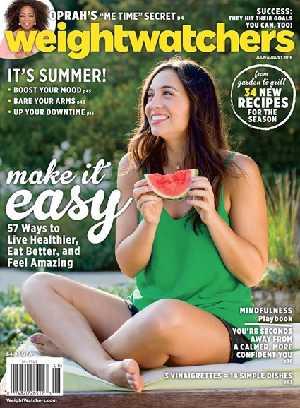 Weight Watchers Magazine Cover - 7/1/2016