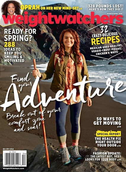 Weight Watchers Magazine Cover - 3/1/2016