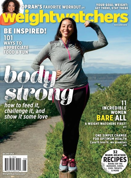 Weight Watchers Magazine Cover - 5/1/2016