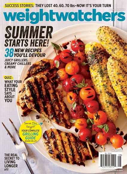 Weight Watchers Magazine Cover - 7/1/2015