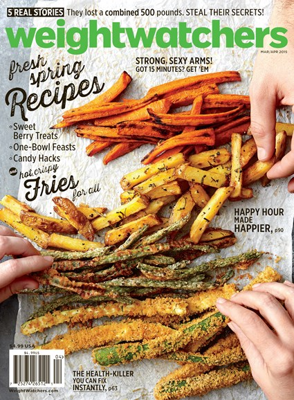 Weight Watchers Magazine Cover - 3/1/2015