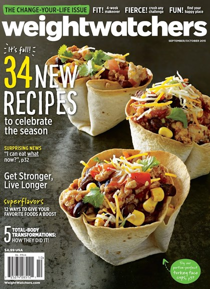 Weight Watchers Magazine Cover - 9/1/2015
