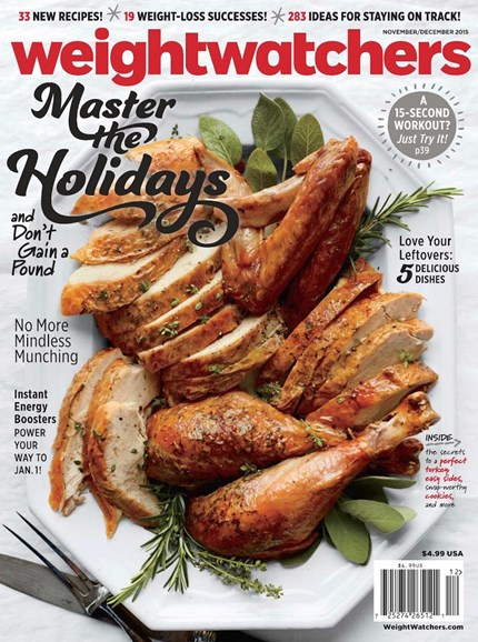 Weight Watchers Magazine Cover - 11/1/2015