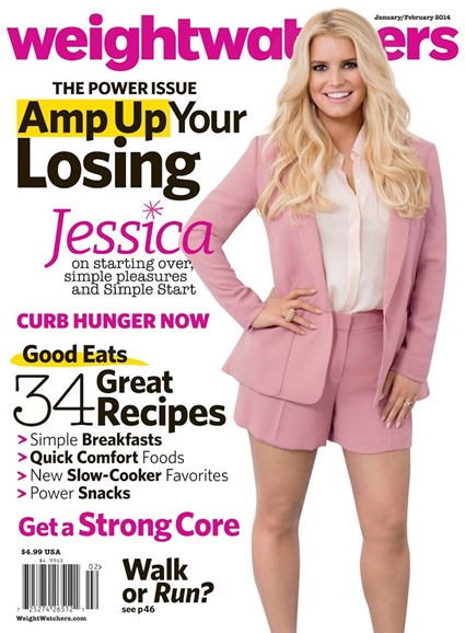 Weight Watchers Magazine Cover - 1/1/2014