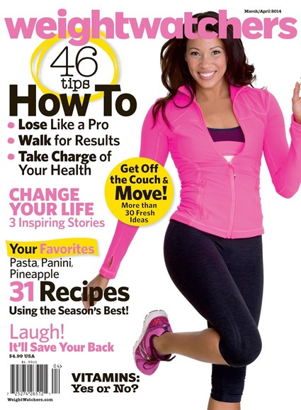 Weight Watchers Magazine Cover - 3/1/2014