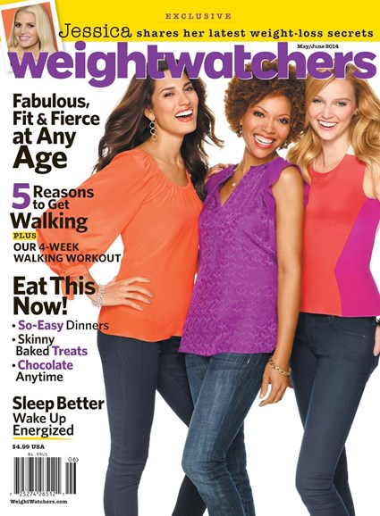 Weight Watchers Magazine Cover - 5/1/2014