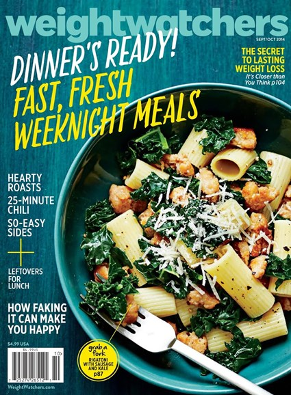 Weight Watchers Magazine Cover - 9/1/2014