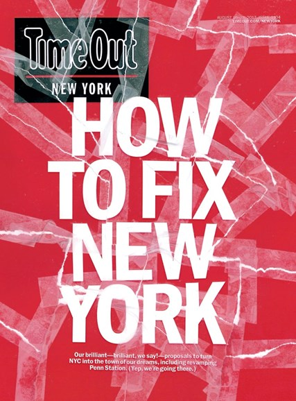 Time Out New York Cover - 8/16/2017