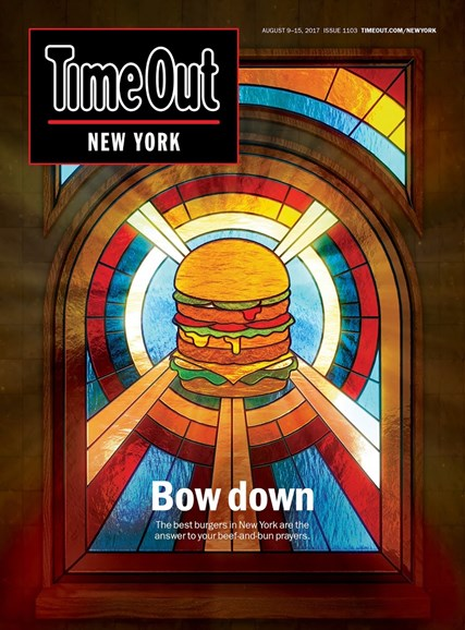Time Out New York Cover - 8/9/2017