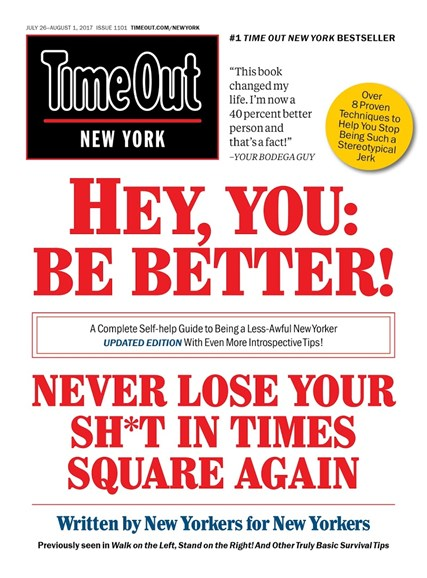 Time Out New York Cover - 7/26/2017