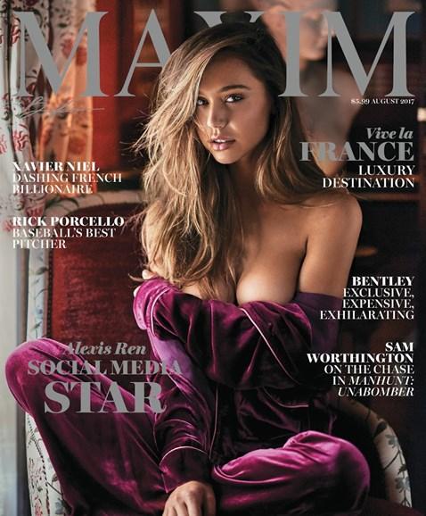 Maxim Cover - 8/1/2017
