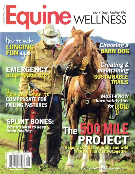 Equine Wellness Cover - 8/1/2017