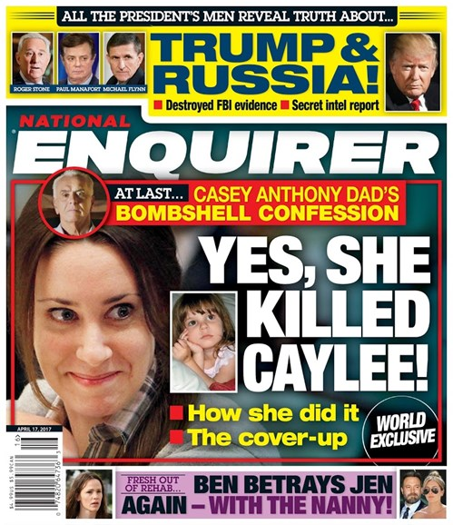 National Enquirer Cover - 4/17/2017