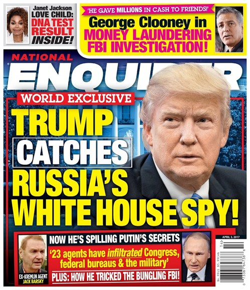 National Enquirer Cover - 4/3/2017
