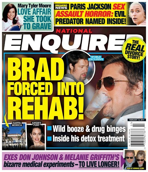 National Enquirer Cover - 2/13/2017