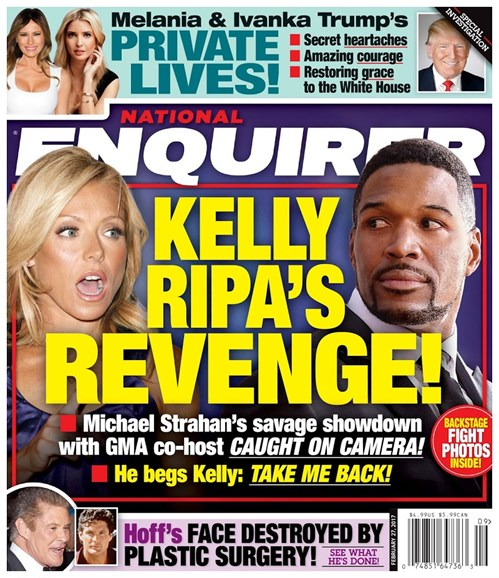 National Enquirer Cover - 2/27/2017