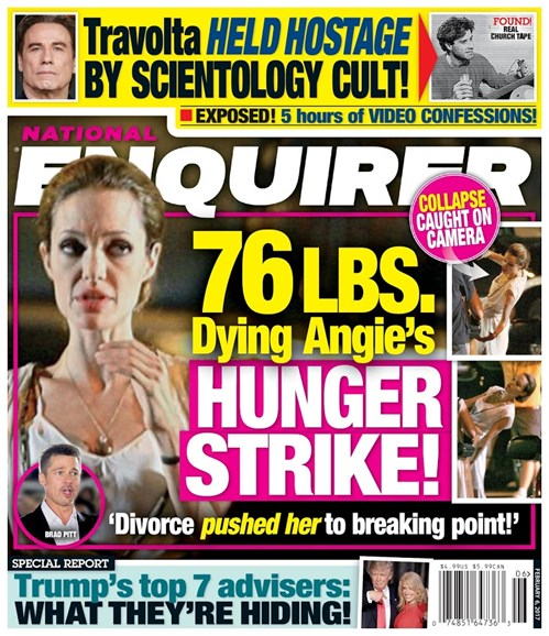 National Enquirer Cover - 2/6/2017