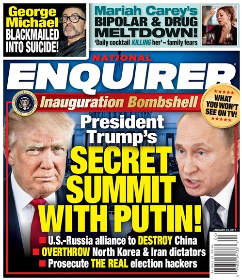 National Enquirer Cover - 1/23/2017