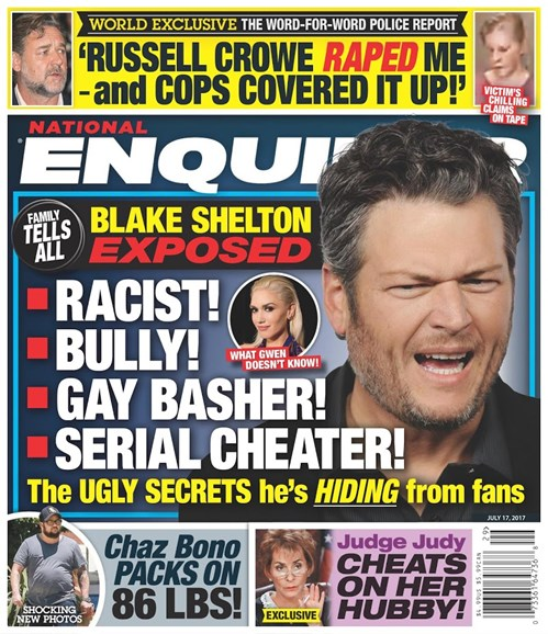 National Enquirer Cover - 7/17/2017