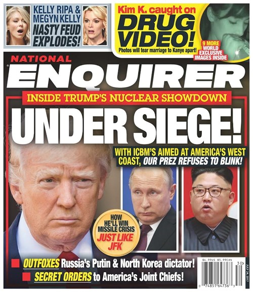 National Enquirer Cover - 7/24/2017