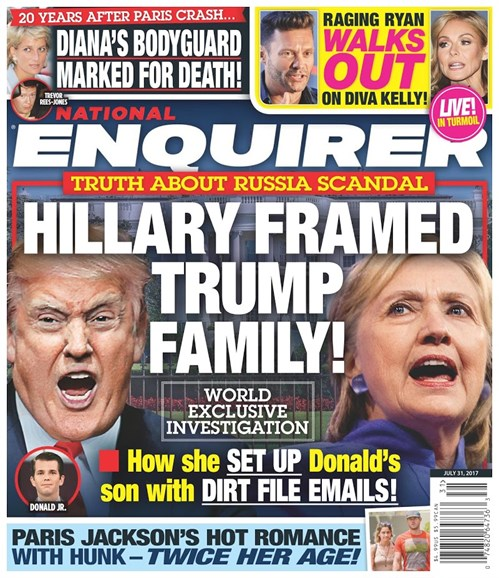 National Enquirer Cover - 7/31/2017