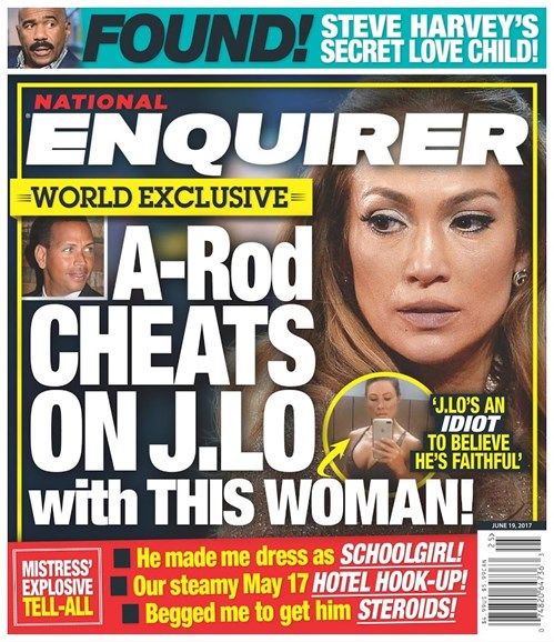 National Enquirer Cover - 6/19/2017