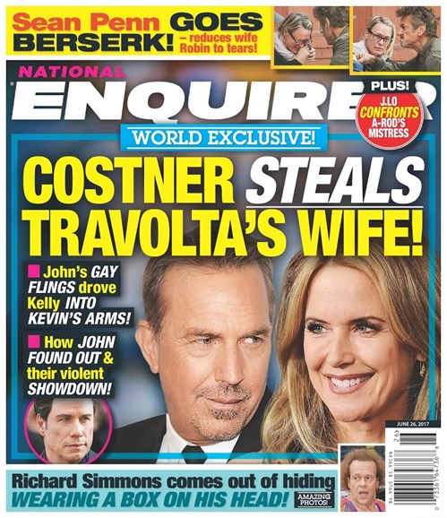 National Enquirer Cover - 6/26/2017