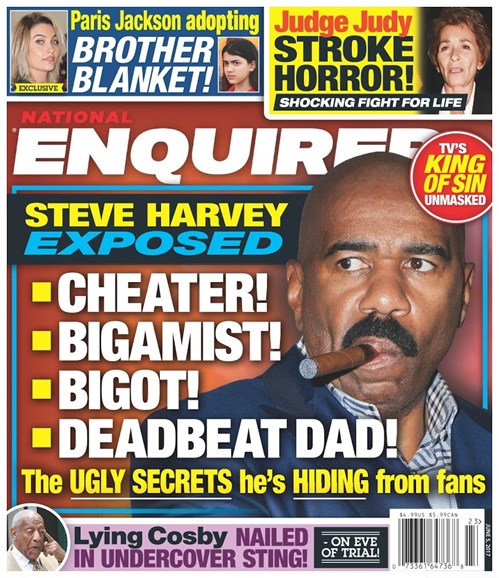 National Enquirer Cover - 6/5/2017