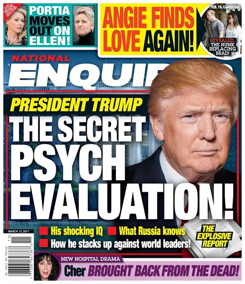 National Enquirer Cover - 3/13/2017