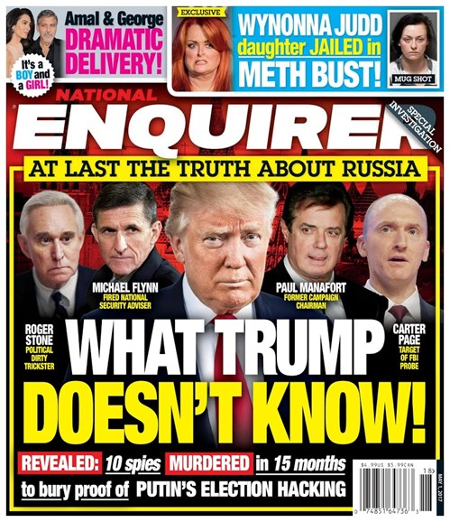 National Enquirer Cover - 5/1/2017