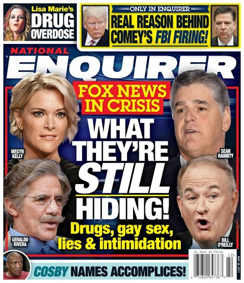 National Enquirer Cover - 5/29/2017