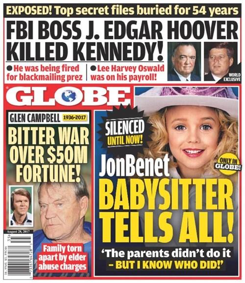 Globe Cover - 8/28/2017