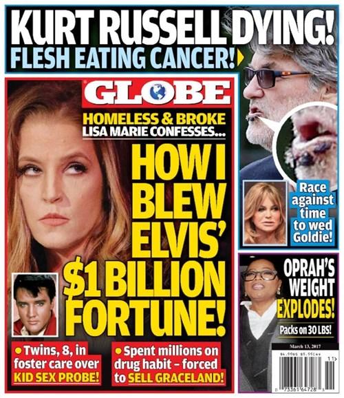 Globe Cover - 3/13/2017