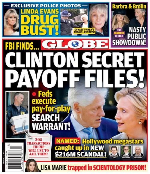 Globe Cover - 3/27/2017