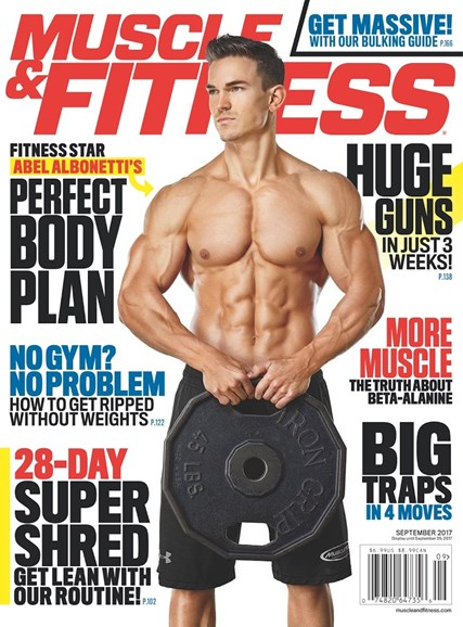 Muscle & Fitness Cover - 9/1/2017