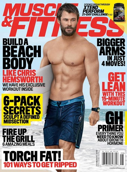 Muscle & Fitness Cover - 8/1/2016