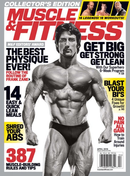 Muscle & Fitness Cover - 4/1/2015