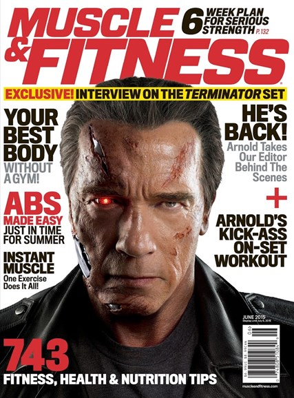 Muscle & Fitness Cover - 6/1/2015