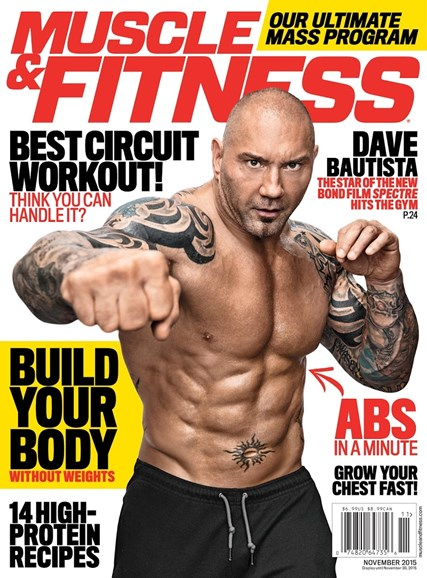 Muscle & Fitness Cover - 11/1/2015