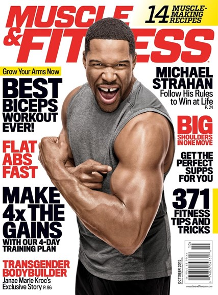 Muscle & Fitness Cover - 10/1/2015