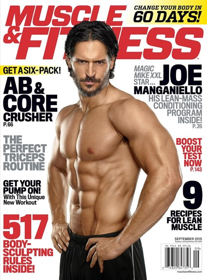 Muscle & Fitness Cover - 9/1/2015