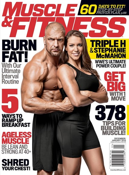 Muscle & Fitness Cover - 12/1/2014