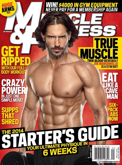 Muscle & Fitness Cover - 1/1/2014