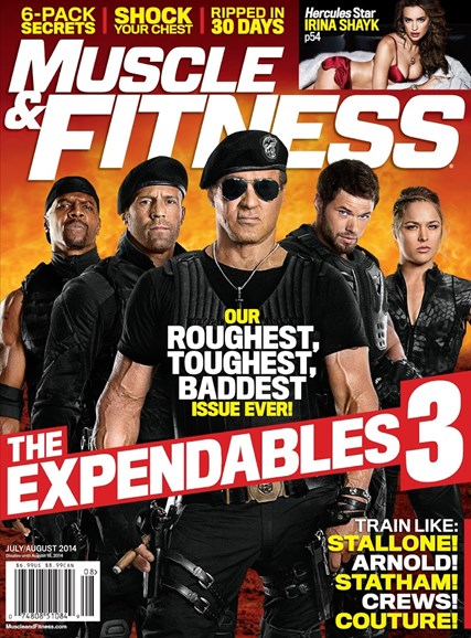 Muscle & Fitness Cover - 7/1/2014